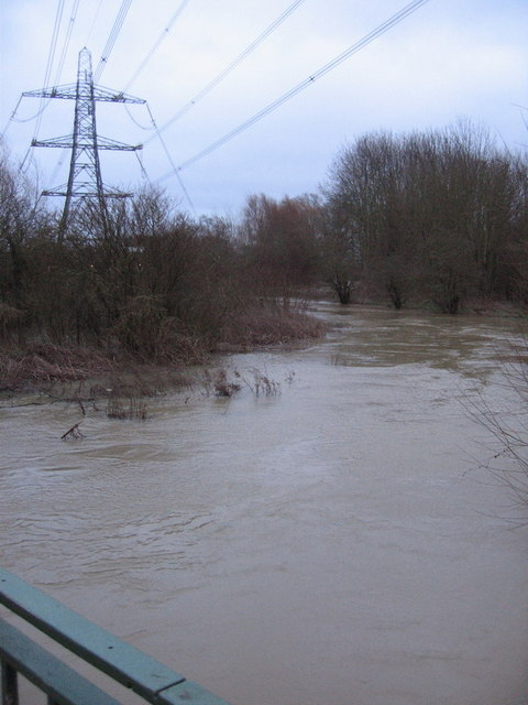 Bulstake Stream in flood