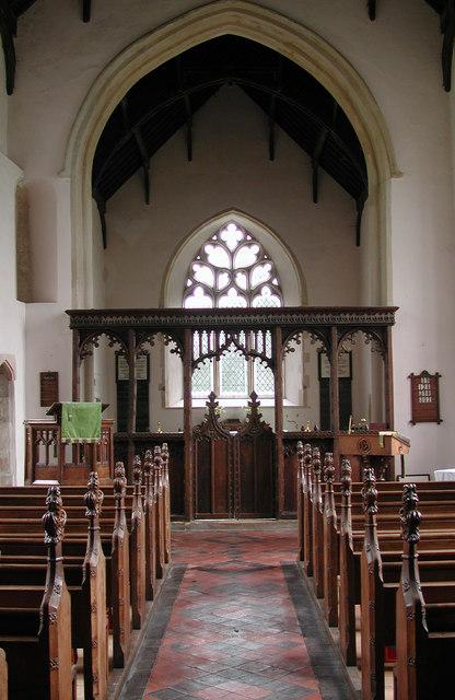 St Margaret, Breckles, Norfolk - East end