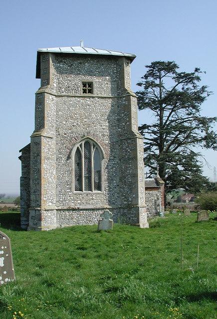 All Saints, Toftrees, Norfolk