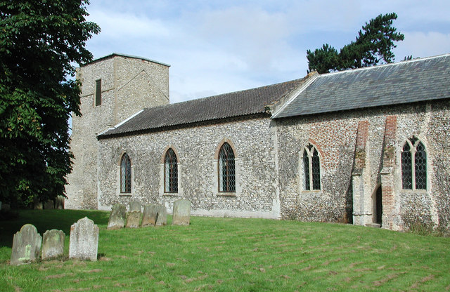 All Saints, Helhoughton, Norfolk