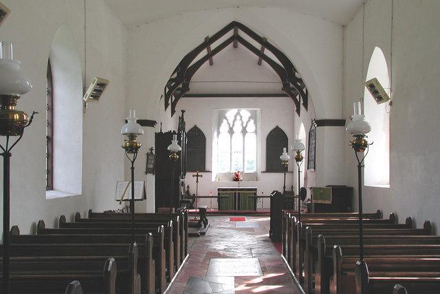 All Saints, Helhoughton, Norfolk - East end