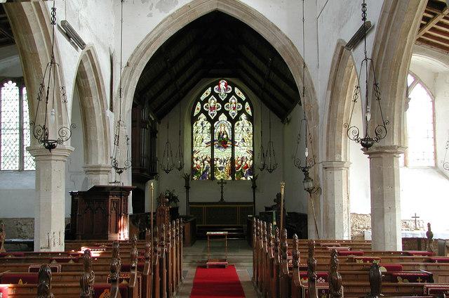 St Mary, Brancaster, Norfolk - east end