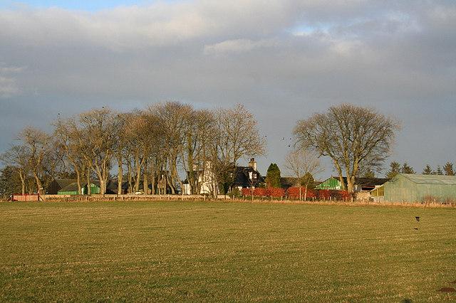 Mains of Asleid Farm.