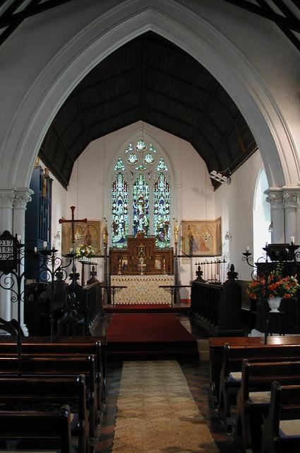 St Ethelbert, East Wretham, Norfolk - East end