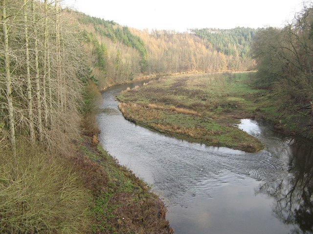 Newton Braes and Whiteadder Water