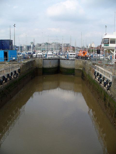 Hull Marina Entrance Lock