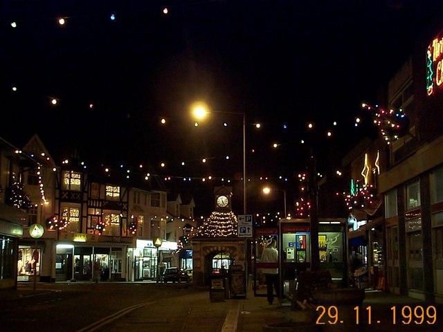 Sheringham, Christmas 1999.