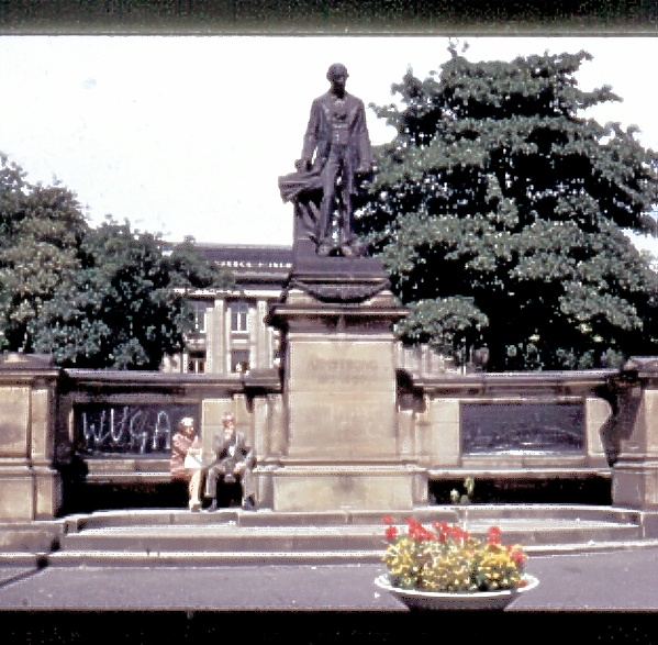 Lord Armstrong statue