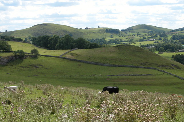View south-west from near Crossland Sides