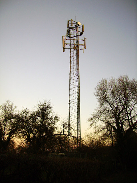 Hurstbourne Hill Mobile Phone Mast