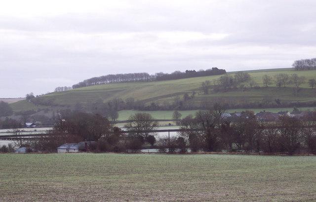 Looking towards Knighton Hill