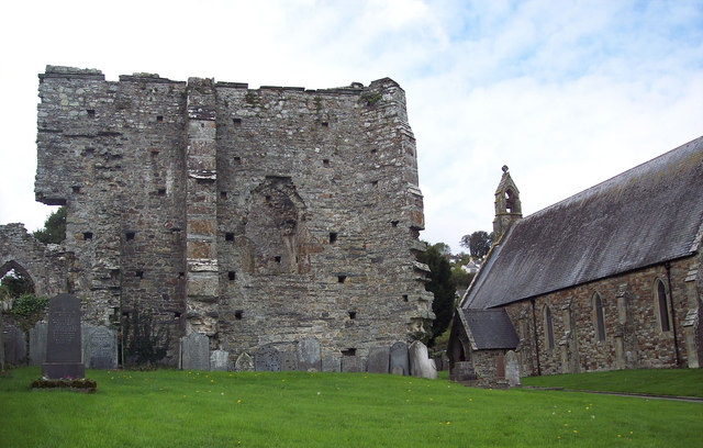 The Abbey Ruins at St Dogmaels