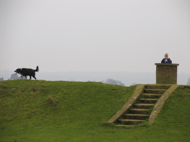 Christmas Day on Burrough Hill 2006