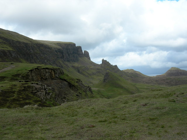 Quiraing: the Prison, the Table and the Needle