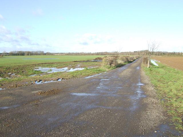 Bridleway to Bushy Barn