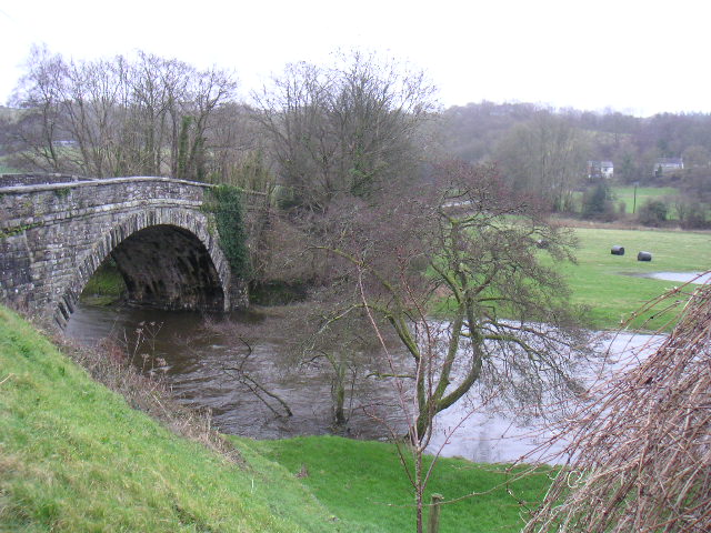 Bridge over Teifi at Llanfihangel-ar-arth