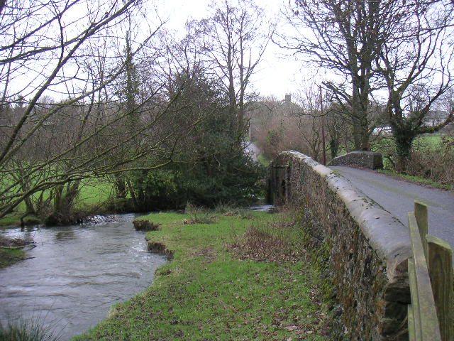 Bridge over the Cerdin - Tregroes