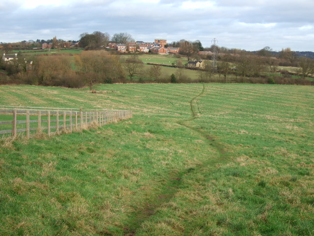 Footpath from Burnaston