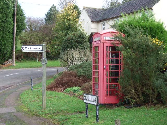 Burnaston phonebox