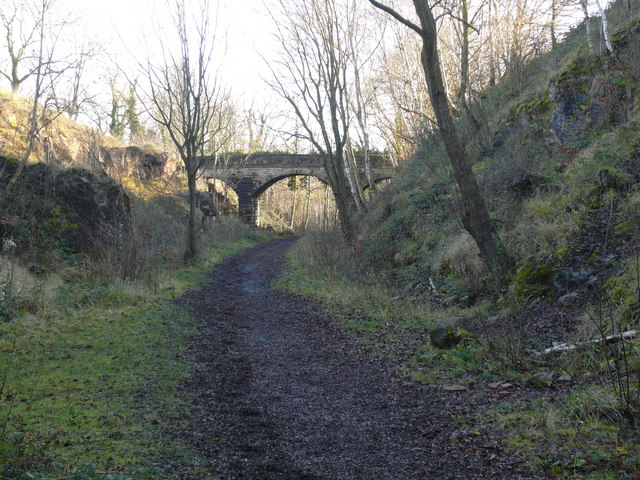Pleasley Vale - Disused Railway Track Walk