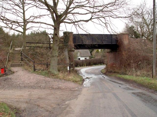 Railway bridge near Felsted