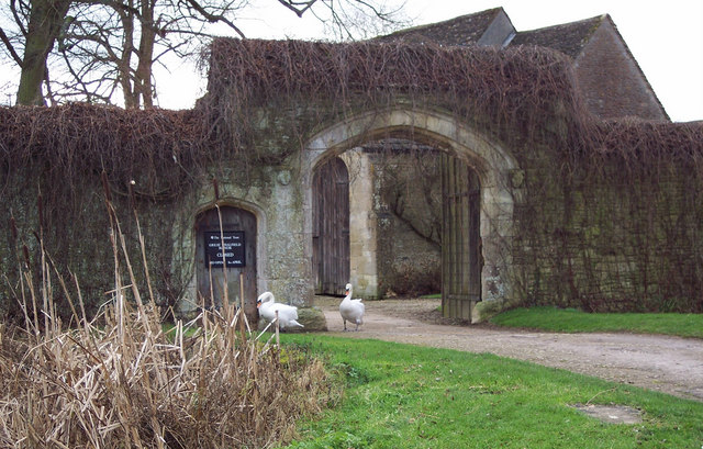 Arched Gateway at Great Chalfield Manor