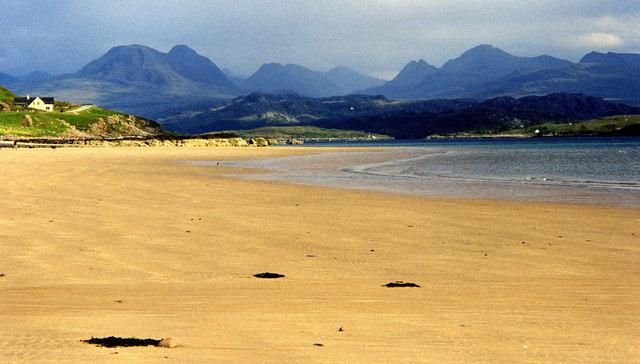 Beach at Caolas Beag