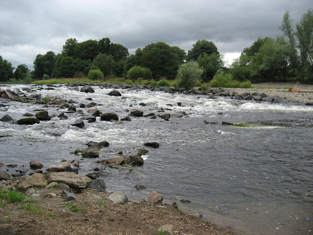 The Tweed at Melrose