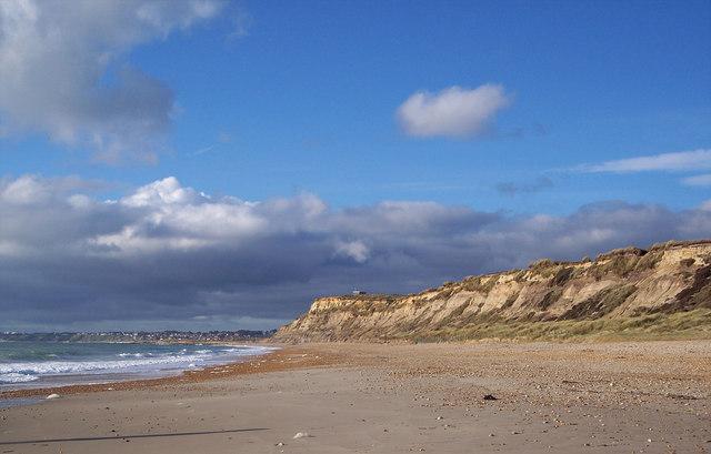 Beach at Hengistbury Head