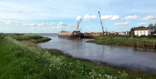 Barrow Haven Timber Wharf