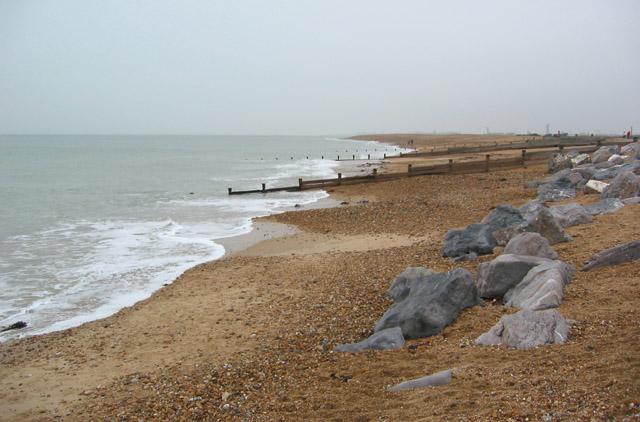 Winter on Hayling Beach