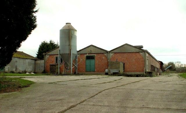Farm building at Sage's End