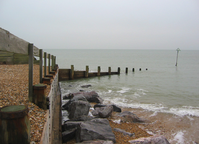 Groyne on Hayling Beach