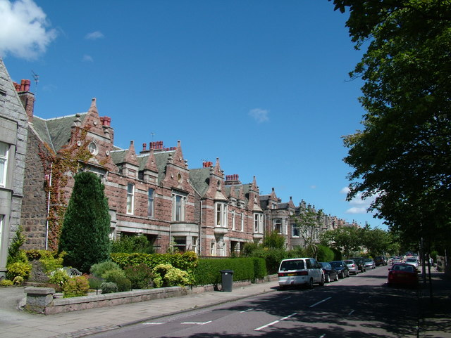 Pink Granite  Houses on Hamilton Place