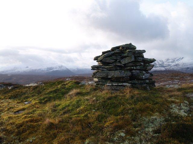 Summit Cairn, Carn a Bhiorain