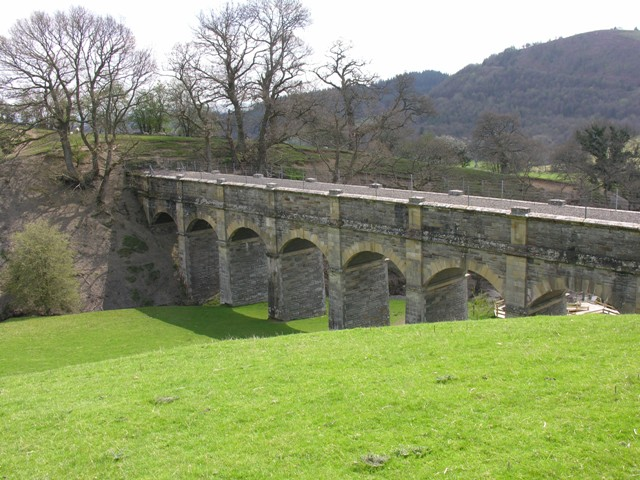 Aqueduct carrying water from the Elan Valley