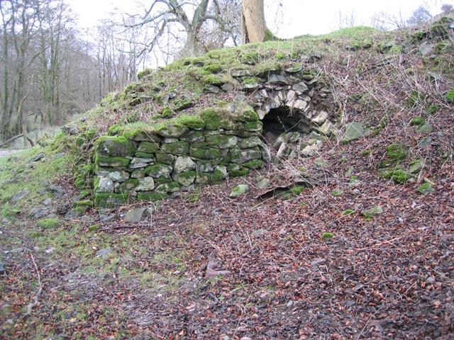 Lime Kiln Near Cilcain
