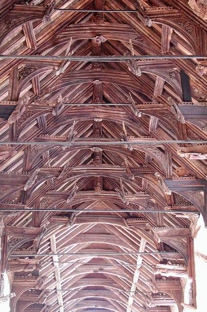 All Saints, Tilney All Saints, Norfolk - Roof