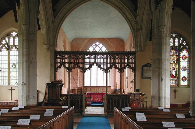 All Saints, Litcham, Norfolk - East end