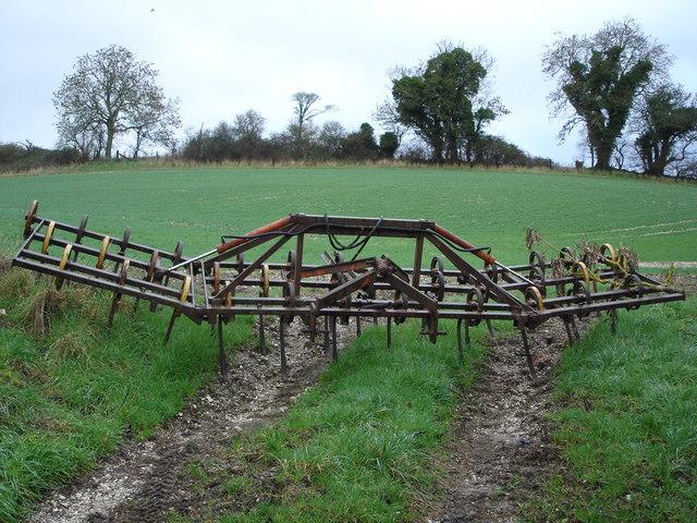 Typical farm gate
