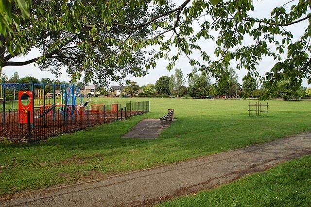 Public Park opposite Westfield School