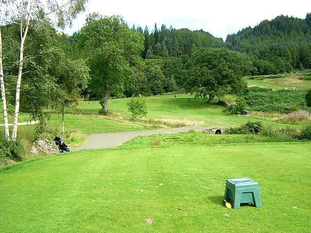 Eighth Hole, Aberfoyle Golf Course