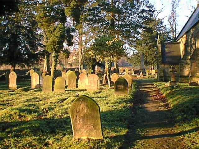 Brackenfield Churchyard