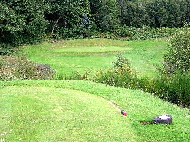 Thirteenth Hole, Aberfoyle Golf Course