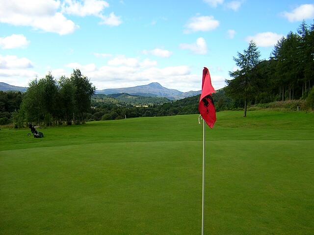 Fourteenth Hole, Aberfoyle Golf Course