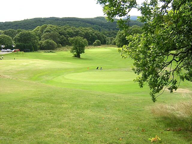 Sixteenth Hole, Aberfoyle Golf Course