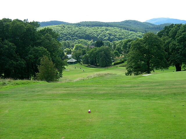 Eighteenth Hole, Aberfoyle Golf Course