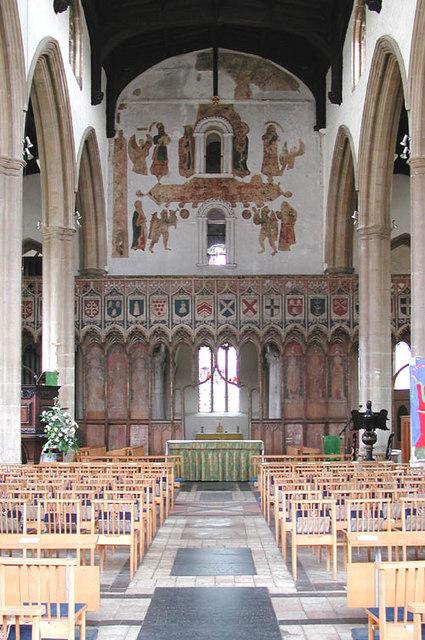 St Mary, Attleborough, Norfolk - East end