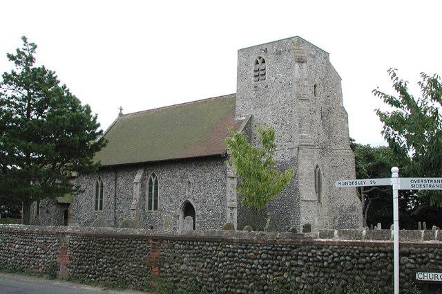 St John the Baptist, Trimingham, Norfolk