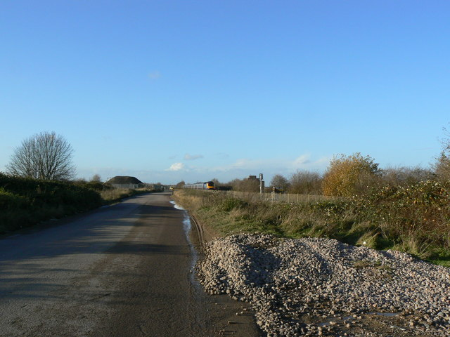 Road to Kendrick Trading Estate, Swindon